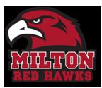 Milton Red Hawks Mascot