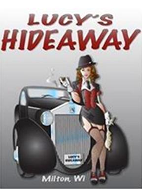 Lucy's Hideaway logo